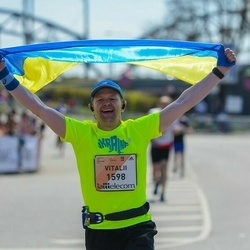 The 27th Lattelecom Riga Marathon - Vitalii Pavlyk (1598)