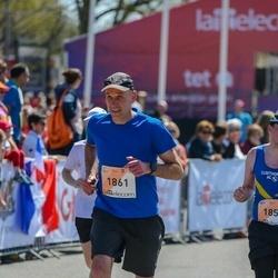 The 27th Lattelecom Riga Marathon - Andrius Tulaba (1861)