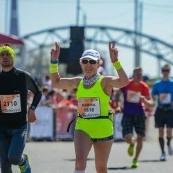 The 27th Lattelecom Riga Marathon - Marika Roopärg (1818), Alexandr Pobedinsky (2110)