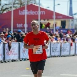 The 27th Lattelecom Riga Marathon - Toufik Mehanneche (1599)
