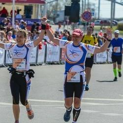 The 27th Lattelecom Riga Marathon - Carmen Birkle (954), Ulf Schmidt (956)