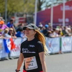 The 27th Lattelecom Riga Marathon - Marina Letaeva (1852)