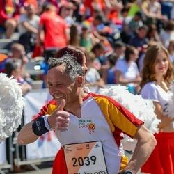The 27th Lattelecom Riga Marathon - Leonardo Bormolini (2039)
