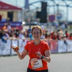 The 27th Lattelecom Riga Marathon - Inga Ziediņa (1447)