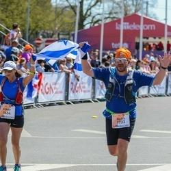 The 27th Lattelecom Riga Marathon - Einav Bashiri (1654), Nativ Shahak (1733)