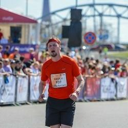 The 27th Lattelecom Riga Marathon - Vasilii Vaulin (937)