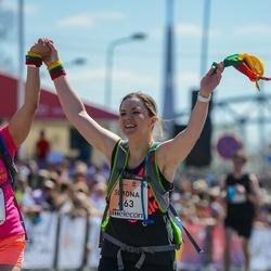 The 27th Lattelecom Riga Marathon - Simona Labiniene (663)