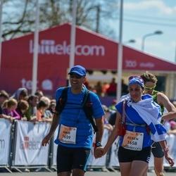 The 27th Lattelecom Riga Marathon - Keren Hay (1658), Amir Hay (1659)