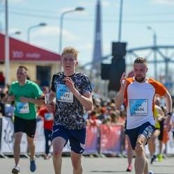 The 27th Lattelecom Riga Marathon - Atis Jansons (10604), Artūrs Silgals (11493)