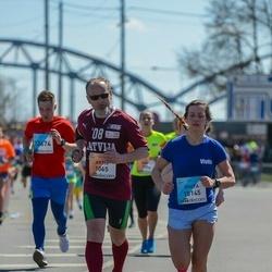 The 27th Lattelecom Riga Marathon - Artis Drēziņš (1065), Vivita Zimba (10145)