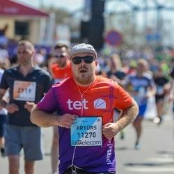 The 27th Lattelecom Riga Marathon - Artūrs Kiseļovs (11270)