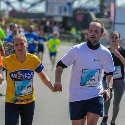 The 27th Lattelecom Riga Marathon - Emīls Rubīns (11094), Santa Krampāne (12199)