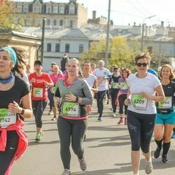 The 27th Lattelecom Riga Marathon - Anastasiia Medinova (2742), Baiba Apine (6209), Kadi Mikson (6974)