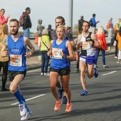 The 27th Lattelecom Riga Marathon - Anita Kažemāka (21), James Messam (523), Reinis Tops (964)