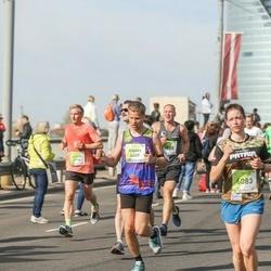 The 27th Lattelecom Riga Marathon - Edgars Eižvertiņš (4609), Agate Kristapsone (6083)