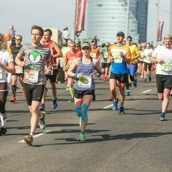 The 27th Lattelecom Riga Marathon - Agnis Mūrnieks (213), Emma Maja Walfridsson (1423), Darya Ber (3363)