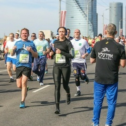The 27th Lattelecom Riga Marathon - Jochem Veenstra (3852), Aļona Borisova (7128)