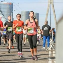 The 27th Lattelecom Riga Marathon - Alexey Lyubimov (765), Laura Komarovska (4223), Agnese Pole (4363), Oliver Vihmann (7037)