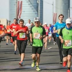 The 27th Lattelecom Riga Marathon - Walter Rastner (84), Josef Rastner (762), Alexandra Spencer (3124), Bertram Tetzner (3386)