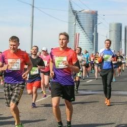 The 27th Lattelecom Riga Marathon - Viesturs Trasūns (1777), Aigars Strods (5437)