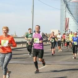 The 27th Lattelecom Riga Marathon - Dace Vilčuka (5767), Agnis Kauliņš (5837)