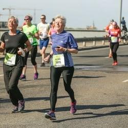 The 27th Lattelecom Riga Marathon - Ria Jansen (3894), Aline Jansen (3895)