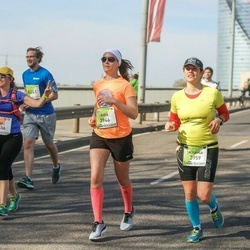 The 27th Lattelecom Riga Marathon - Gali Nathan Lavi (1656), Kira Hongell (3946), Marina Donner (3959)