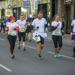 The 27th Lattelecom Riga Marathon - Liane Loeber (123), Kristina Becker (3599), Jacob Werner (3600), Alise Podniece (7048)