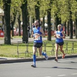 The 27th Lattelecom Riga Marathon - Anita Kažemāka (21), Reinis Tops (964)