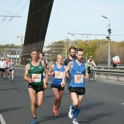 The 27th Lattelecom Riga Marathon - Anita Kažemāka (21), Reinis Tops (964), Hermann Gerald Plaickner (2052)