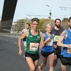 The 27th Lattelecom Riga Marathon - Anita Kažemāka (21), Hermann Gerald Plaickner (2052)