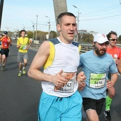 The 27th Lattelecom Riga Marathon - Zsolt Szomju (250), Alexander Kelberg (5690)