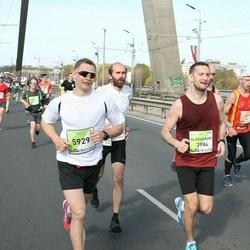The 27th Lattelecom Riga Marathon - Aleksandrs Moisejevs (3984), Agris Stūris (5929)