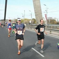 The 27th Lattelecom Riga Marathon - Brets Pirtnieks (353), Mihails Golubevs (1402)