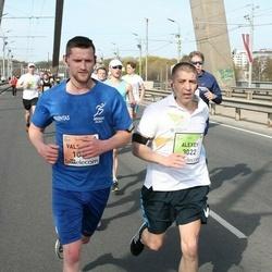 The 27th Lattelecom Riga Marathon - Valentas Uža (1043), Alexey Zhirenkov (3022)