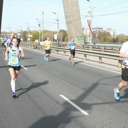 The 27th Lattelecom Riga Marathon - Ahti Kelder (796), Renata Nedzveckaitė (5282)
