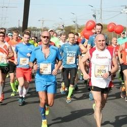 The 27th Lattelecom Riga Marathon - Joel Sedlacko (668), Igor Perepech (711), Ainārs Kumpiņš (1006), Toms Kaufmanis (1103), Valdis Ņilovs (1822), Valerijs Vaseņins (2025)