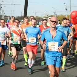 The 27th Lattelecom Riga Marathon - Joel Sedlacko (668), Igor Perepech (711), Ainārs Kumpiņš (1006)