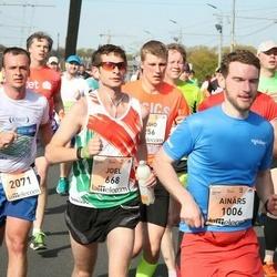The 27th Lattelecom Riga Marathon - Joel Sedlacko (668), Ainārs Kumpiņš (1006)