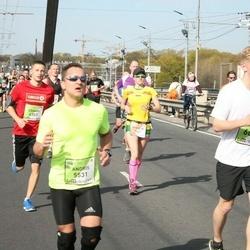 The 27th Lattelecom Riga Marathon - Andris Rēders (5531), Emīls Kvālis (6630)