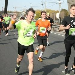 The 27th Lattelecom Riga Marathon - Alexey Alekseev (4544), Andis Rožkalns (6404), Ēriks Zaharans (6425)