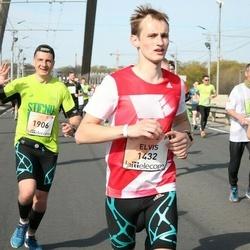 The 27th Lattelecom Riga Marathon - Elvis Rubīns (1432), Dzintars Petrovs (1906)