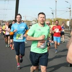 The 27th Lattelecom Riga Marathon - Ainārs Brahmanis (1407), Miks Gabduļlins (2714)