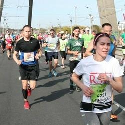 The 27th Lattelecom Riga Marathon - Aapo Kinnunen (1419), Heidi Hokkanen (4231)