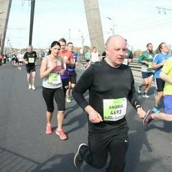 The 27th Lattelecom Riga Marathon - Iveta Ragoviča (3997), Andris Trifanovs (4693)