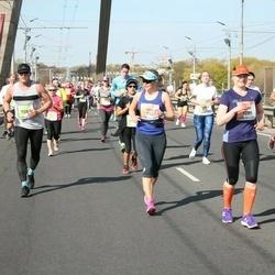 The 27th Lattelecom Riga Marathon - Iiris Nykänen (733), Agris Daņiļevičs (7085)