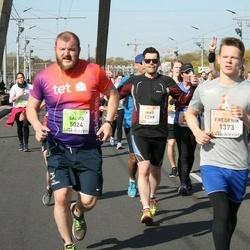 The 27th Lattelecom Riga Marathon - Frederik Kipp (1373), Salvis Ārbergs (5024)