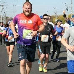 The 27th Lattelecom Riga Marathon - Miko Kaapu (1299), Frederik Kipp (1373), Salvis Ārbergs (5024)