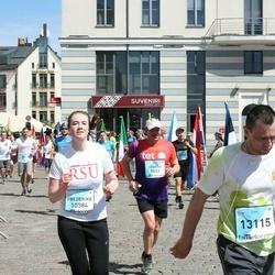 The 27th Lattelecom Riga Marathon - Vasilijs Rums (9451), Frederike Weitkamp (10384), Kālis Liše (13115)