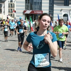 The 27th Lattelecom Riga Marathon - Alesya Rusak (10089)